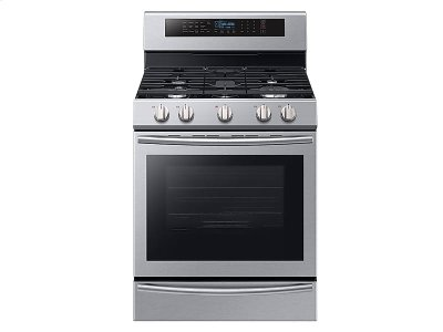 5.8 cu. Ft. Freestanding Gas Range with True Convection and Steam Reheat Product Image