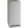 "U-Line Outdoor Collection 15"" Refrigerator With Stainless Solid Finish And Field Reversible Door Swing (115 Volts / 60 Hz)"