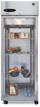Refrigerator, Single Section Upright, Full Glass Door Product Image