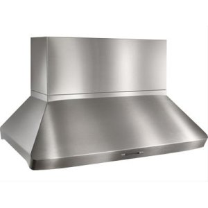 "BestCentro Island - 54"" x 32"" Stainless Steel Island Range Hood with internal/external blower options"