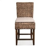 Mix-N-Match Woven Counter Stool Hazlenut finish