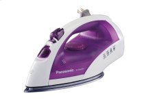 Steam Circulating Iron with Curved Non-Stick Stainless-Steel Soleplate NI-E660SR