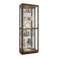 Side Entry Display Cabinet With Metal Clad Front Product Image