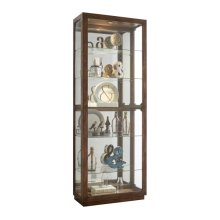 Side Entry Display Cabinet With Metal Clad Front