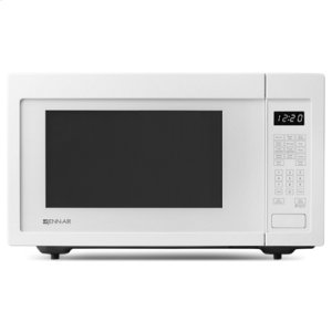 "White 22"" Built-In/Countertop Microwave Oven"
