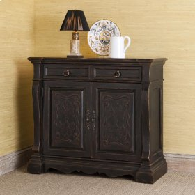 Aspen Scrolled Sideboard - Antique Ebony