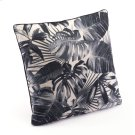 Black Jungle Pillow Black & Beige Product Image