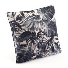 Black Jungle Pillow Black & Beige