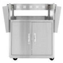 Blaze 27-Inch 2 Burner Professional Grill Cart