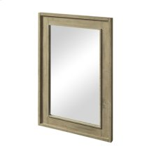 """River View 25"""" Mirror - Toasted Almond"""