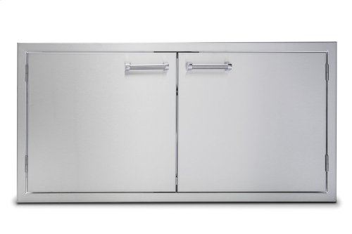 """42"""" Stainless Steel Double Access Doors"""
