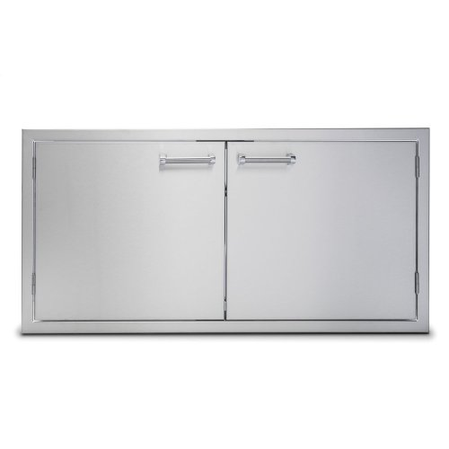 "42"" Stainless Steel Double Access Doors"
