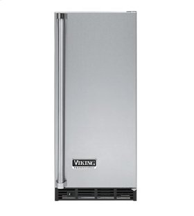 "Stainless Steel 15"" Ice Machine - VUIM (Right Hinge Door)"