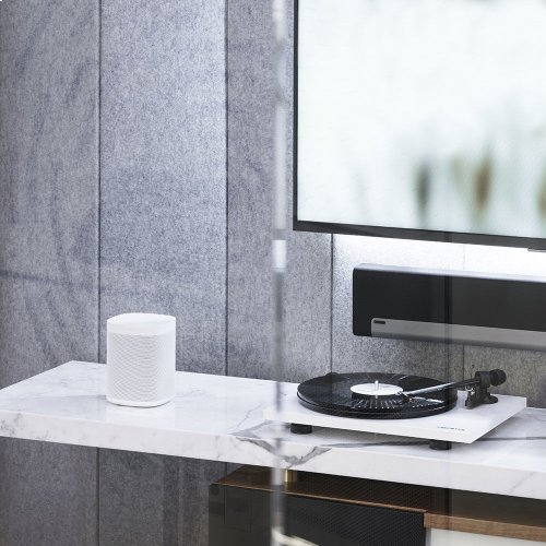 White- Bring the warmth of vinyl to your Sonos system.