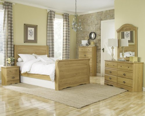 HB28 Sleigh Bed - King