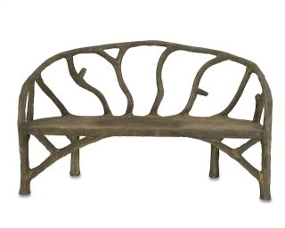Arbor Bench - 37h x 61w x 31d