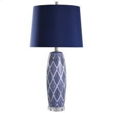 L317860  Alton  34in Ceramic Body Table Lamp  150 Watts  3-Way