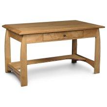 "Aspen Writing Desk, Aspen Writing Desk with Inlay, 60""w"