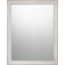 Quoizel Mirror in Silver Leaf