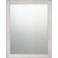 Evoke Mirror in Silver Leaf