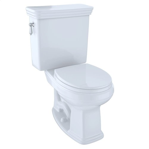 Eco Promenade® Two-Piece Toilet, 1.28 GPF, Round Bowl - Cotton