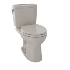 Drake® II Two-Piece Toilet, Round Bowl, 1.0 GPF - Bone