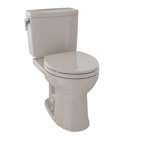 Drake® II Two-Piece Toilet, Round Bowl, 1.0 GPF - Bone