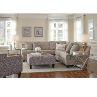 Three Piece Sectional w/nails Product Image