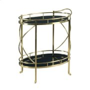 Hidden Treasures Rolling Bar Cart Product Image