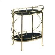 Hidden Treasures Rolling Bar Cart Product Image