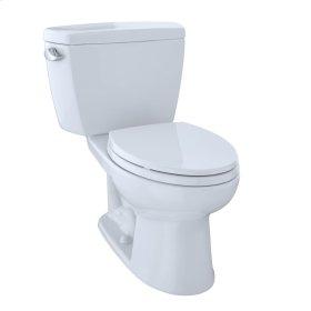 "Drake® Two-Piece Toilet, 1.6 GPF, 10"" Rough-In, Elongated Bowl - Cotton"