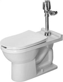 White Starck 3 Toilet Floorstanding