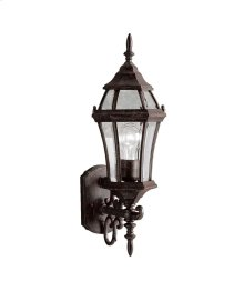 "Townhouse 21.5"" 1 Light Wall Light Tannery Bronze"