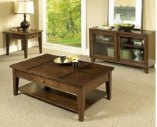 Walnut 3 Pack Cocktail Table &