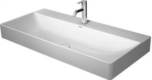 Durasquare Washbasin Ground 1 Faucet Hole Punched