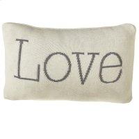 """""""Love"""" Lumbar Pillow. Product Image"""
