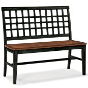 Dining - Arlington Lattice Back Bench