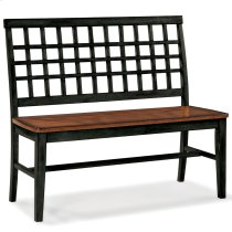 Dining - Arlington Lattice Back Bench Product Image
