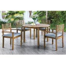 5 Piece Outdoor Dining Set