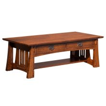 Highland Coffee Table with Drawer