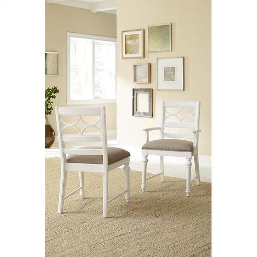 Lynn Haven Fret Work Side Chair-Kd