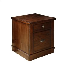 Castlewood Mobile File Cabinet Warm Tobacco finish