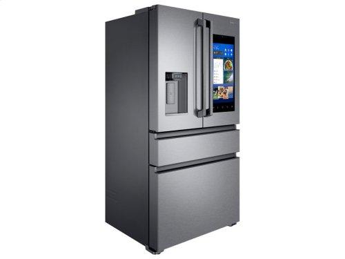 22 cu. ft. Capacity Counter Depth 4-Door French Door Refrigerator with Family Hub (2017)