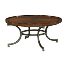 Barrow Round Cocktail Table