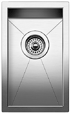 Blanco Precision Small Bowl (vertical Orientation) - Satin Polished Finish