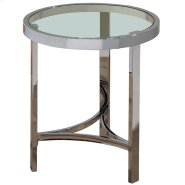 Strata Accent Table in Chrome Product Image