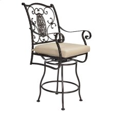 Swivel Counter Stool With Arms