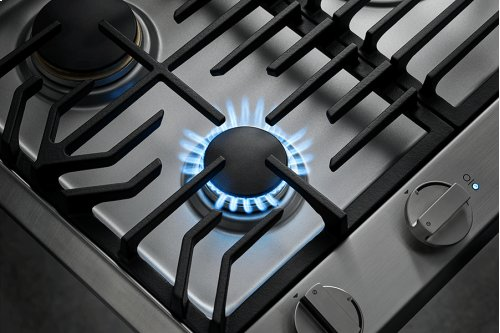 """Heritage 30"""" Professional Gas Cooktop, Natural Gas/High Altitude"""