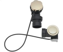 """Cable Operated 1-1/2"""" ABS Drain - English Brass"""