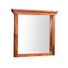 "B&O Railroade Trestle Bridge Dresser Mirror, B&O Railroade Trestle Bridge Dresser Mirror, 43 1/2""w"